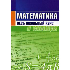 Степанова Т.С. Математика. Весь школьный курс в таблицах Кузьма