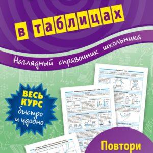 Столяревская Н.В. Наглядный справочник школьника. Физика в таблицах