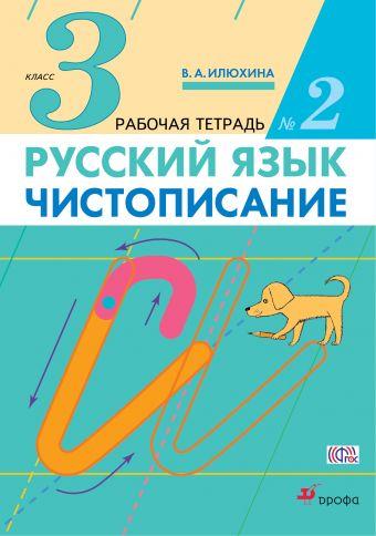 Илюхина В.А. Чистописание. 3 класс. Рабочая тетрадь № 2. В 3-х частях