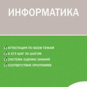 Масленикова О.Н. Информатика. 5 класс. Контрольно-измерительные материалы (КИМ)